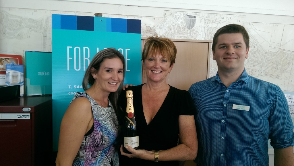 MOET! Landlord says thanks for managing her property!