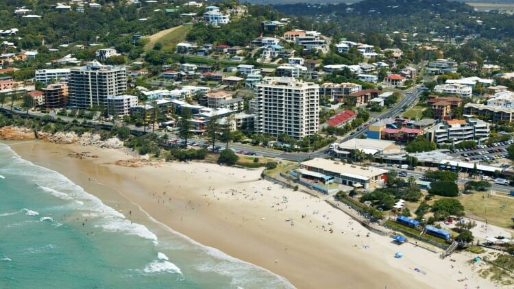 """You can get just about everything you need in Coolum now"" resident Dave Simons said."