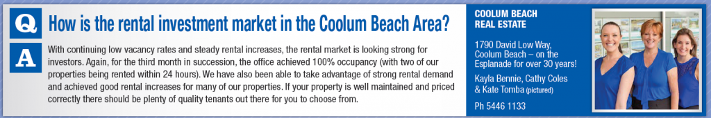 Ask A professional - Coolum Beach Real Estate