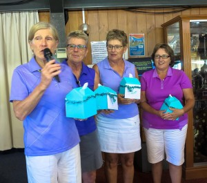 Golf Day with tissue boxes