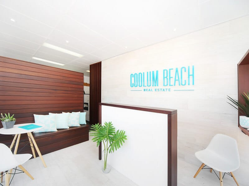 Coolum Beach Real Estate - Office Reception Area